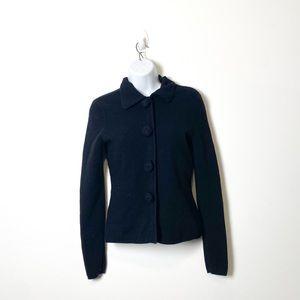 Mercer & Madison Black Cottagecore knit Cardigan